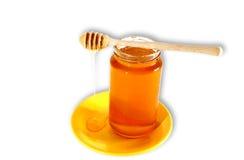 söt honung Arkivbild