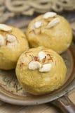 söt indisk ladoo för mat royaltyfri foto