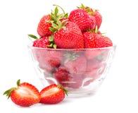 söt jordgubbe royaltyfri bild