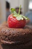 söt jordgubbe Royaltyfria Foton