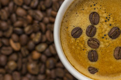 söt kopp för giffel för bakgrundsavbrottskaffe Fotografering för Bildbyråer