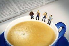 söt kopp för giffel för bakgrundsavbrottskaffe Royaltyfria Foton