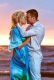 söt kyss Fotografering för Bildbyråer
