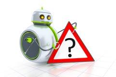 Söt liten robot Royaltyfria Foton