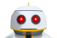Söt liten robot Royaltyfria Bilder