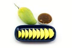 Söt mangosås Fotografering för Bildbyråer