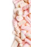 söt marshmallow Fotografering för Bildbyråer