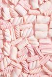 söt marshmallow Arkivfoton
