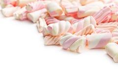 söt marshmallow Arkivbilder