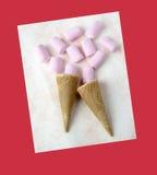 söt marshmallow Arkivfoto