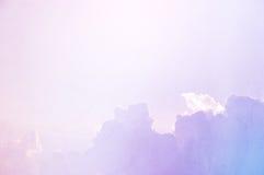 Söt molnbakgrundstextur Royaltyfri Fotografi