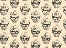 söt muffin Stock Illustrationer