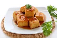 Söt och sur tofu Royaltyfria Bilder