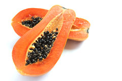 söt papaya Royaltyfria Bilder