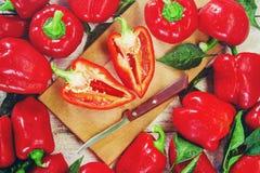 söt pepparred Royaltyfria Foton