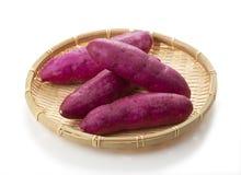 söt potatis arkivbild