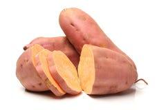 söt potatis royaltyfri bild