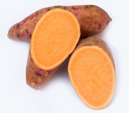 söt potatis Arkivfoto