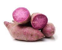 söt potatispurple royaltyfri fotografi