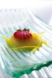söt pudding Fotografering för Bildbyråer