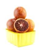 Söt röd apelsin Arkivfoto