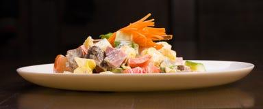 söt sallad för peppar för baconmorotost Arkivfoto