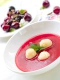 söt soup Arkivbild