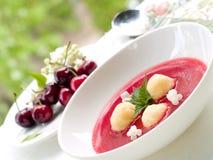 söt soup Royaltyfri Foto
