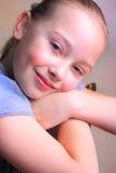 Söt ung flicka royaltyfri bild