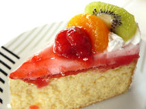 söt vanilj för fruktkakakräm Royaltyfria Foton