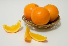 söta apelsiner Arkivfoton