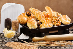 söta bröd Fotografering för Bildbyråer