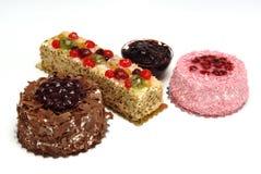 söta cakes arkivbild
