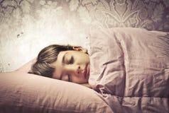 söta drömmar Arkivbild
