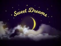 söta drömmar Royaltyfri Fotografi