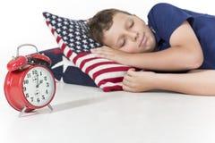 Söta drömmar, sover tätt! Royaltyfri Fotografi