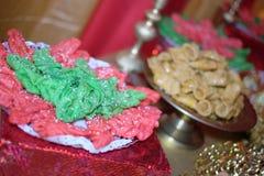 Söta foods i en variation av färger för special design Royaltyfri Foto