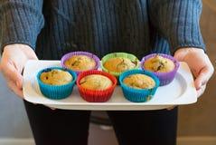 Söta hemlagade muffin Royaltyfri Bild