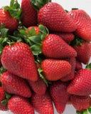 söta jordgubbar Arkivbilder
