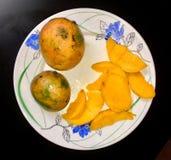 Söta Kerala mango Royaltyfria Foton