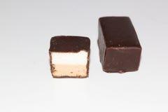 Söta läckra chokladgodisar Fotografering för Bildbyråer