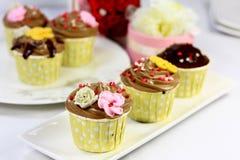 Söta muffiner Royaltyfria Foton