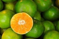 Söta thailändska apelsiner Royaltyfri Foto