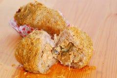 sötpotatis för 02 crispy puffserie Royaltyfri Fotografi