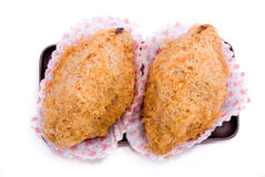 sötpotatis för 02 crispy puffserie Royaltyfria Foton