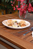 sötsak för smörgås för hönasmåfiskpotatis kryddig Royaltyfria Bilder