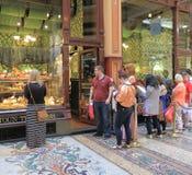 Sötsaken shoppar Melbourne Arkivbild
