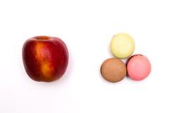 Sötsaker eller frukt, bantar Arkivbild