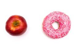 Sötsaker eller frukt, bantar Fotografering för Bildbyråer
