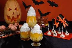 Sötsaker för Halloween arkivbilder